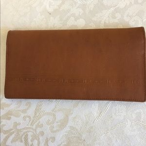 Henry Genuine Leather Travelers Wallet